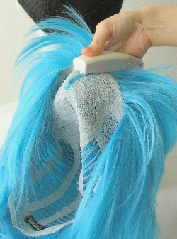 アホ毛の作り方