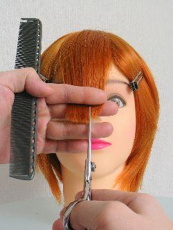 前髪カット方法 その2
